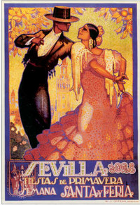 Article_Spain - Flamenco Poster