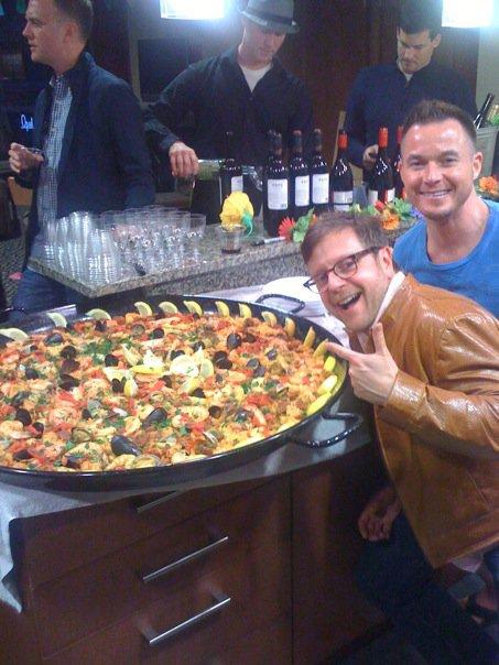 Kurt & paella