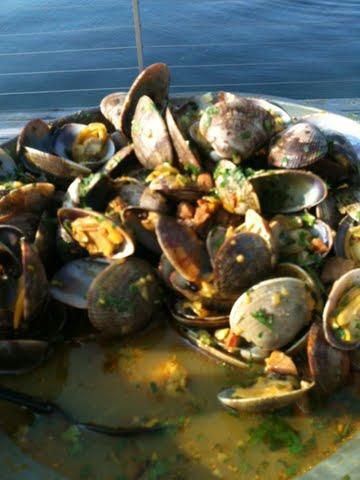 Cataplana clams